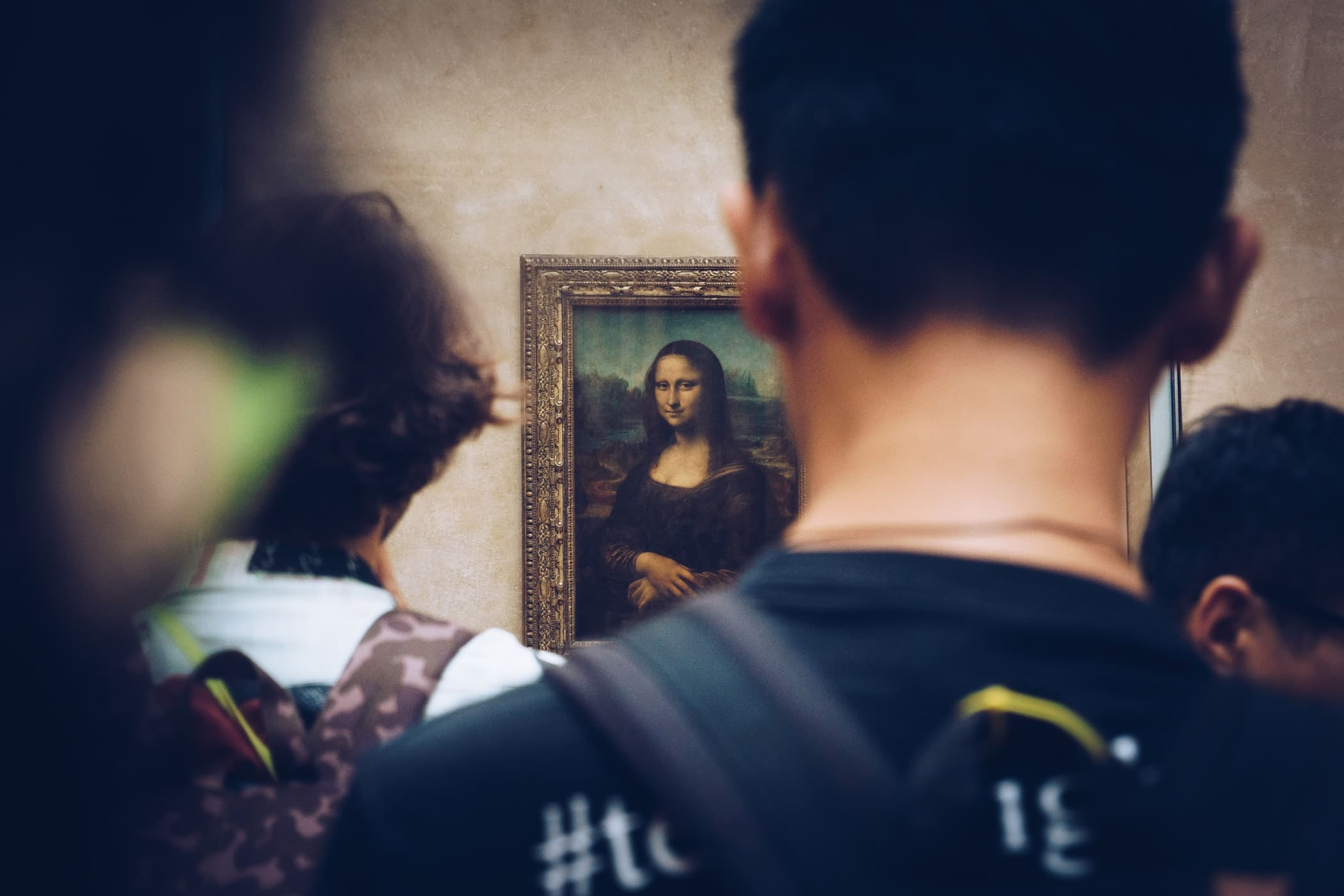A painting of The Mona Lisa